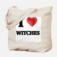 I love Witches Tote Bag