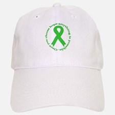 Lime Green Hope Baseball Baseball Cap