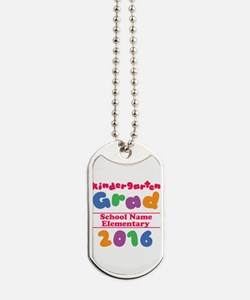 Kindergarten - Class of 2016 Dog Tags