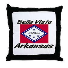 Bella Vista Arkansas Throw Pillow