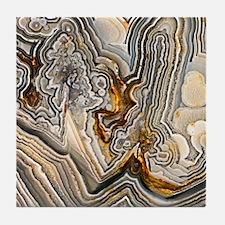 Crazy Lace Agate Tile Coaster