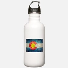 Colorado State flag re Water Bottle