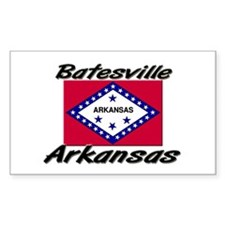 Batesville Arkansas Rectangle Decal