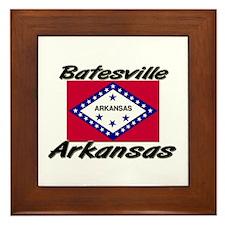 Batesville Arkansas Framed Tile