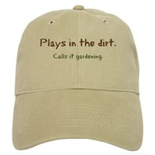 Plays In Dirt Cap