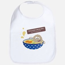 Cute Jewish kids Bib