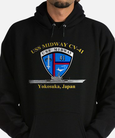 Cute Uss eisenhower aircraft carrier Hoodie (dark)