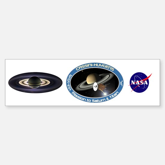 Earth From Saturn Sticker (Bumper)