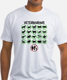 Not a Human Veterinarian T-Shirt