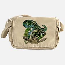 Marine life Messenger Bag