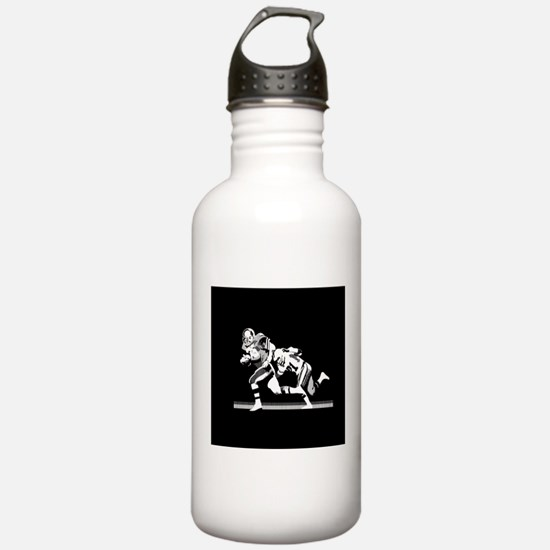 Football Players Tackle Sports Water Bottle