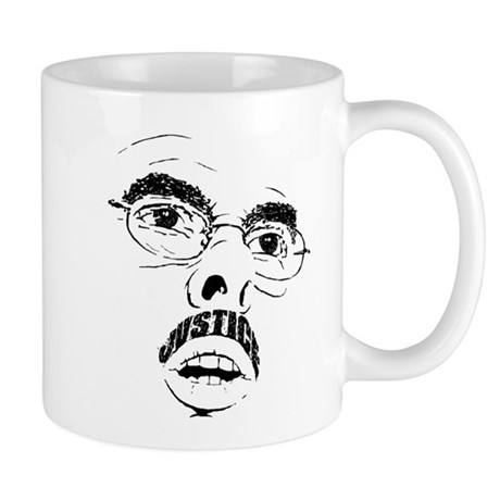Mustache of Justice Mug