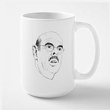 Mustache of Justice Large Mug