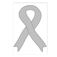 Gray Ribbon Postcards (Package of 8)