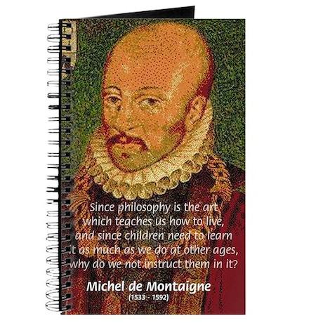 Michel de Montaigne Education Journal