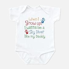 Sky Diver Like Daddy Infant Bodysuit
