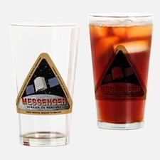 Messenger Logo Drinking Glass
