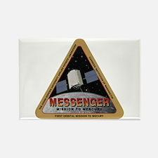 Messenger Logo Rectangle Magnet