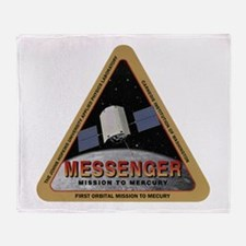 Messenger Logo Throw Blanket