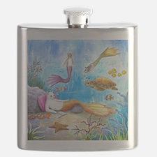 Cat Mermaid 31 Flask