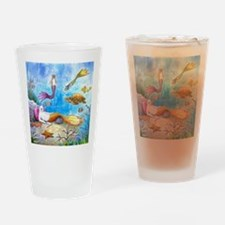 Cat Mermaid 31 Drinking Glass