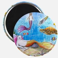 Cat Mermaid 31 Magnets