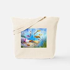 Cat Mermaid 31 Tote Bag