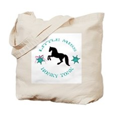 Little Miss Honky Tonk Tote Bag