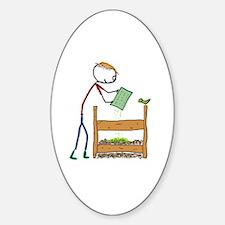 Unique Compost Sticker (Oval)