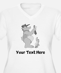 Bear Father And Son (Custom) Plus Size T-Shirt