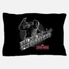 Black Panther Attack Captain America C Pillow Case