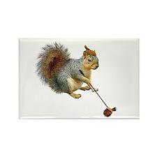 Squirrel Acorn Golf Magnets