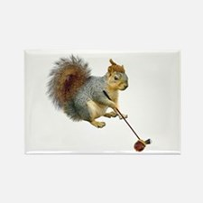 Squirrel Acorn Golf Magnets