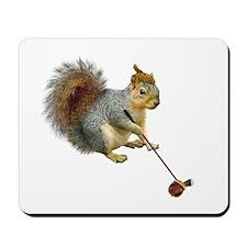 Squirrel Acorn Golf Mousepad