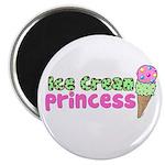 Ice Cream Princess Magnet