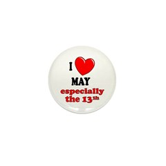 May 13th Mini Button (100 pack)