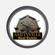 Amityville Real Estate Wall Clock