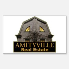 Amityville Real Estate Rectangle Decal