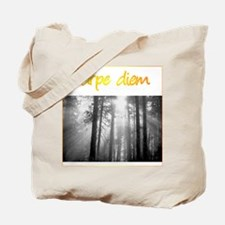 Care Diem Seize the day Tote Bag