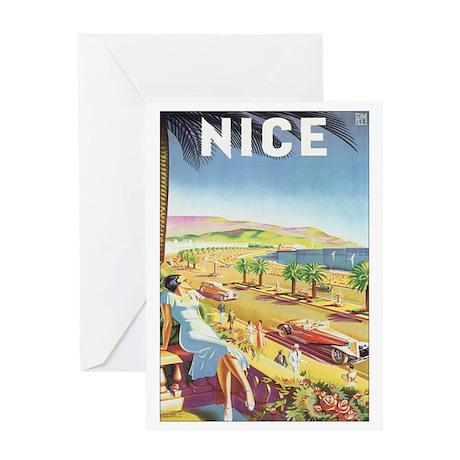 Mediterranean Postcard Greeting Card