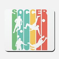 Retro Soccer Mousepad