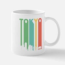 Vintage Tokyo Cityscape Mugs
