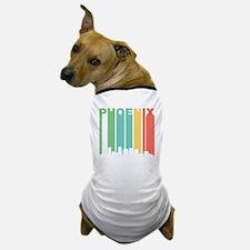 Vintage Phoenix Cityscape Dog T-Shirt