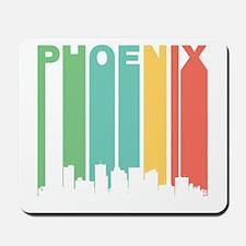 Vintage Phoenix Cityscape Mousepad