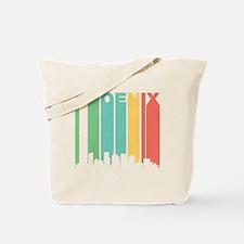 Vintage Phoenix Cityscape Tote Bag