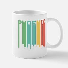 Vintage Phoenix Cityscape Mugs