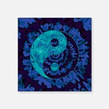 Purple Yin Yang Art Sticker