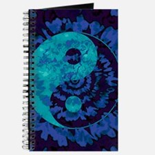 Purple Yin Yang Art Journal