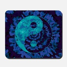 Purple Yin Yang Art Mousepad