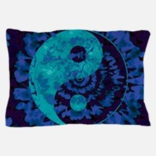 Purple Yin Yang Art Pillow Case